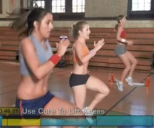 Insanity Cardio Power & Resistance-high knees