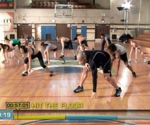 Insanity Cardio Power & Resistance-hit the floor