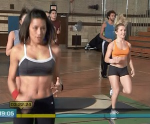 Insanity Cardio Power & Resistance-jog in place