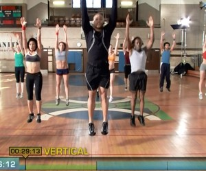 Insanity Cardio Power & Resistance-vertical jumps