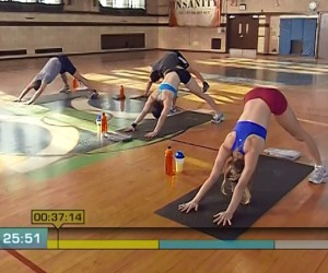 Insanity Cardio Recovery-downward dog
