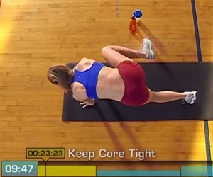 Insanity Cardio Recovery-oblique crunches