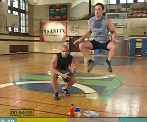 Insanity Fit Test-power jumps