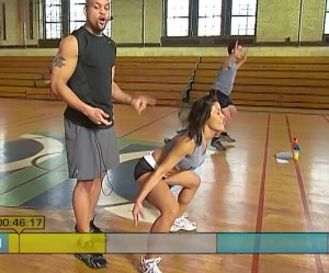 Insanity Fit Test-squat jacks