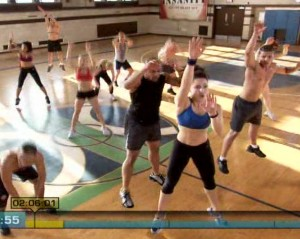 Insanity Plyometric Cardio Circuit-Basket Ball drills