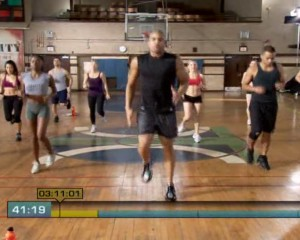 Insanity Plyometric Cardio Circuit-Jog In Place