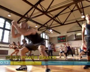 Insanity Plyometric Cardio Circuit-Power Squats