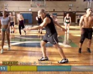 Insanity Plyometric Cardio Circuit-Switch Feet