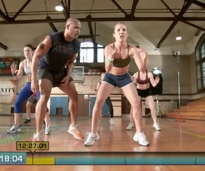 Insanity Pure Cardio-football sprints