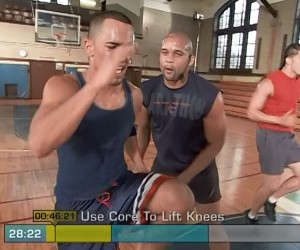 Insanity Pure Cardio-high knees