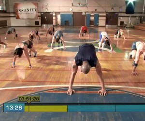 Insanity Pure Cardio-level 2 drills