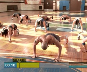 Insanity Pure Cardio-pushup jacks