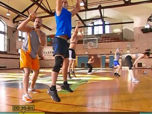 Insanity Max Cardio Conditioning-basketball shots
