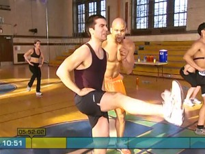 Insanity Max Cardio Conditioning-belt kicks