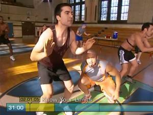 Insanity Max Cardio Conditioning-football runs