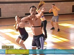 Insanity Max Cardio Conditioning-high and low jabs