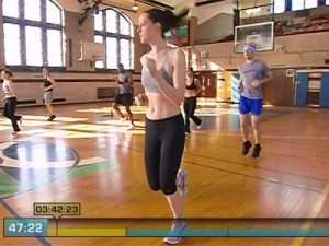 Insanity Max Cardio Conditioning-jog in place