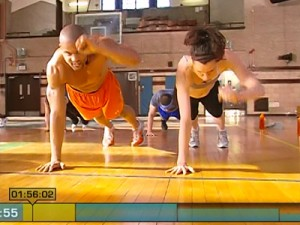 Insanity Max Cardio Conditioning-plank punches