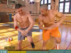 Insanity Max Cardio Conditioning-power knees