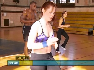 Insanity Max Cardio Conditioning-run in place