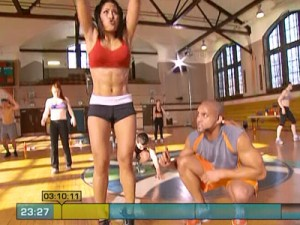 Insanity Max Cardio Conditioning-suicide jumps