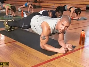 Insanity Max Recovery-low plank to high plank