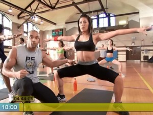 Insanity Max Recovery-plie pulses