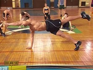 Insanity Max Interval Plyo-balance pushups
