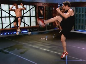 P90X2 Plyocide-flying tiger kick
