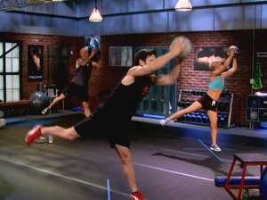 P90X2 Plyocide-launcher lunge