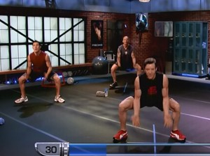 P90X2 Plyocide-wide leg tip toe squat