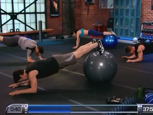 P90X2 Balance and Power-decline sphinx plank press