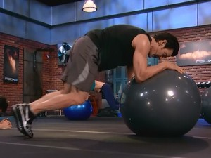 P90X2 Balance and Power-mountain climber