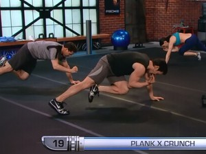 P90X2 Balance and Power-plank x-crunch