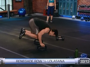 P90X2 Balance and Power-renegade row lolasana