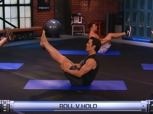 P90X2 Ab Ripper-roll v hold
