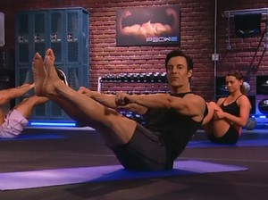 P90X2 Ab Ripper-row your boat