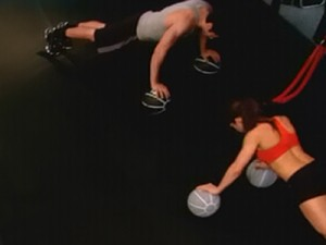 P90X2 Chest Back and Balance-double wide pushup