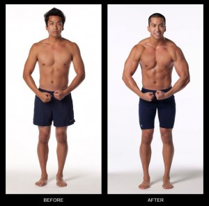 Jeff's Body Beast results (before and after)