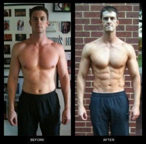 Chris's Body Beast Results (before and after)