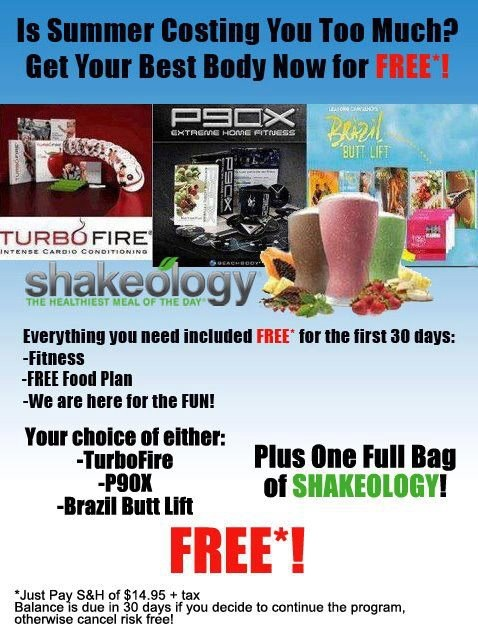 Beachbody Challenge Pack trial promotion