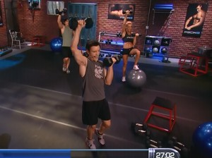 P90X2 Shoulders and Arms-arnold press