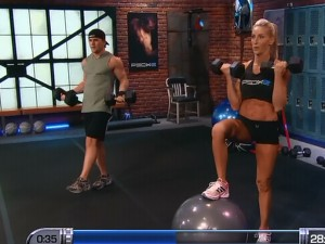 P90X2 Shoulders and Arms-balance curls