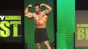 Sagi Kalev at Body Beast premiere event