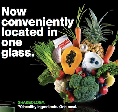 Shakeology_One Meal in a Glass