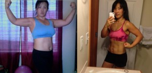 Ashley's P90X2 results
