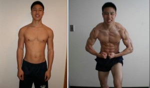 p90x2 before and after  Jonathan's P90X2 results