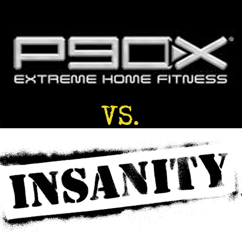 P90X vs  Insanity | Home Fitness For Busy People