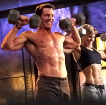 Tony Horton in P90X vs. Less Mills Pump