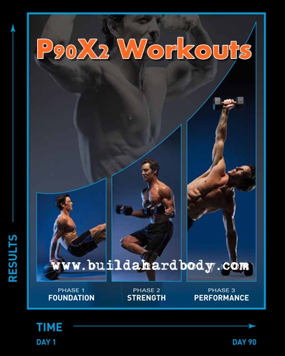 P90X2 workouts in phases